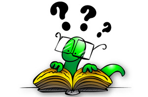 Interrogative book worm !